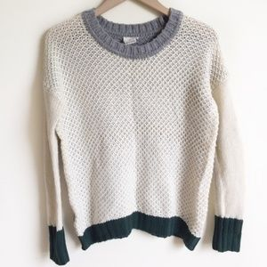 Anthropologie Sweater Knit Long Sleeve Size S
